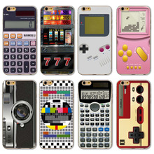 Fashion Gameboy Video tape Camera Styles Back Cases Cover For Apple iPhone SE 5 5s Phone Case Cover Skin Shell Protective Bags