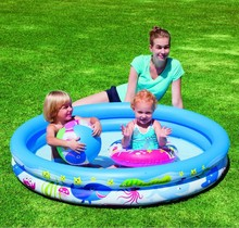 Bestway genuine 51120 second ring pool set of baby bath play pool ball pool b32(China)