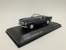 White Box 1:43 1963 VOLVO P1800 Convertible boutique alloy car toys for children kids toys Model Original box freeshipping