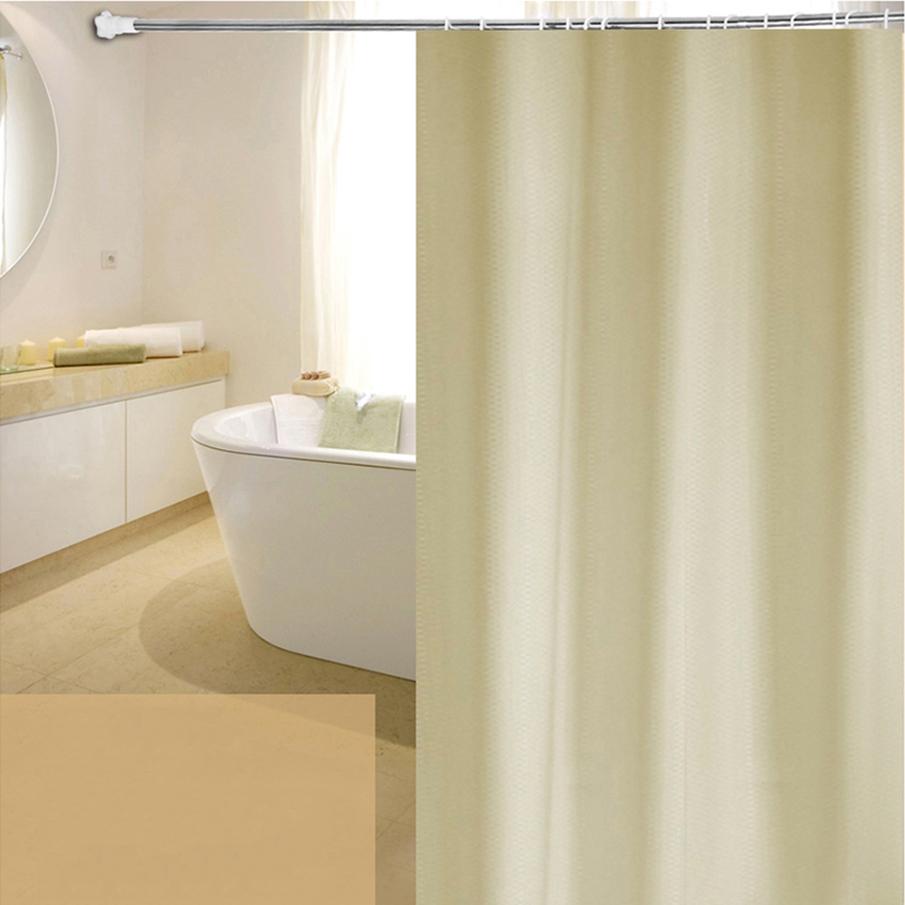 Beige Shower Curtain