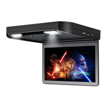 "13.3"" Grey 1080P Video HD Digital TFT Monitor Wide Screen Car Roof DVD Player with HDMI Port"