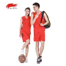 Sport Jersey Men and Women Basketball Suit Basketball Jerseys Team Clothing Sports Clothing Wholesale 6 Colors Print Logo(China)