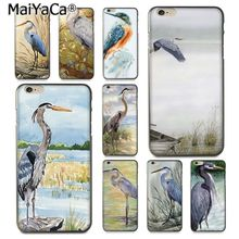Buy MaiYaCa Animal watercolor painting bird Colorful Printing TPU phone case iPhone 8 7 6 6S Plus X 10 5 5S SE 5C Coque Shell for $1.45 in AliExpress store
