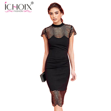 Buy 2017 Fashion Spring Summer Women Sexy Dress bodycon hollow Tassel dresses elegant women wedding robe Party Dreses clothing for $21.98 in AliExpress store