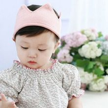 1 PC Beautiful Cute Girls Headwear Crown Shape Crochet Knitted Headband Hair Band Accessories Hat Photography Props 5 colors(China)