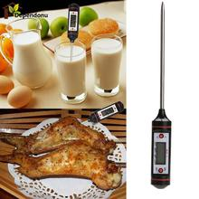 Kitchen Cooking Food Meat Probe Digital Thermometer Electronic BBQ Gas Oven Thermometer Cooking Tools(China)