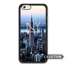 New York City NY Protective Case For iPhone 7 6 6s Plus 5 5s SE 5c 4 4s and For iPod 5