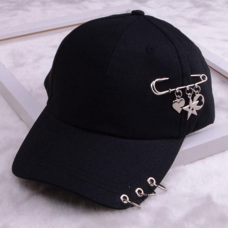 baseball cap with ring dad hats for women men baseball cap women white black baseball cap men dad hat (14)