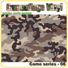 Wholesale Camo Sticker Camouflage Vinyl Wrap Sheet Car Color Change Foil With Air Bubble Free FedEx Free Shipping 30m/roll(China)