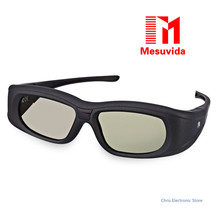 Mesuvida Original Gonbes G05A HD 3D Glasses Lightweight Bluetooth Infrared Signal Active Shutter 3D Movie Game crystal Glasses