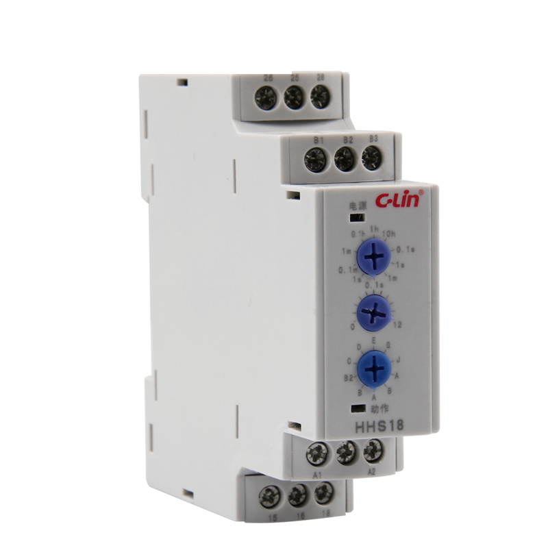 HHS18 More Function Electronics Type Time Relay 0.1 Second -120 Hour Adjustable AC220V<br>