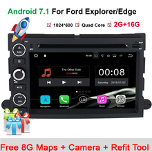HIFIF Android 7.1 1024*600 Car DVD For Ford F150 Mustang Expedition Explorer Fusion 2006 2007 - 2009 Quad Core GPS Navigation(China)