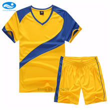 Men quick dry soccer jerseys 2017 survetement football 2016 maillot de football uniforms training soccer adult sets breathable