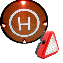 1 PCS LED Landing Auxiliary Lights Portable Emergency Lights for Mavic pro Phantom 4 pro / 3 Inspire Quadcopter Landing Pad