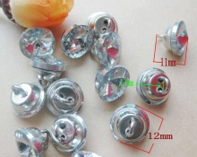 60PCS/LOT 12MM Redbud Crystal Glass Buttons For Sofa Industry Or Other Decoration Fileds