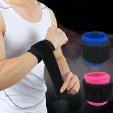 1PCS Adjustable Elastic Wrist Support Bracer Protect Wrapping Strap Reliable Weight Lifting Cuff Wrist Guard Wristguard Bandage