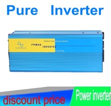 dc ukuba ac 3000w inverter Pure 3000W Watts Peak Real 6000W Power Inverter 24V DC to 230V AC for solar panel + Free shipping