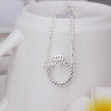 New Arrival!!Wholesale Sterling 925 Silver Anklets,925 Silver Fashion Jewelry,Small key Anklets A009