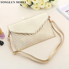 TONGLUN MOBEI Envelope Clutch 2017 Fashion Brand Designer Women Handbags CrossBody Bags High Quality Ladies Handbag Evening Bag