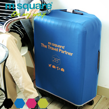 M Square Travel Accessories Luggage Cover Protector Elastic Trolley Suitcase Cover Protective Covers Suitcase Case 20 24 28 Inch