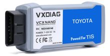 2017 New Arrivals VXDIAG VCX NANO For Toyota TIS Latest V10.30.029 USB 2.0 Fully compatible With SAE J2534 VXDIAG TOYOTA Scanner