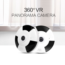 1080P IP Camera Fisheye Panorama IR Night Vision HD Wifi Camera 360 Degree Full View Home Security Surveillance Camera Indoor