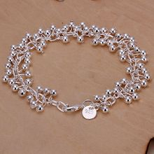 925 jewelry silver plated bracelet,silver fashion jewelry Purple Bracelet /PSLXQSPK XUHTKSTU