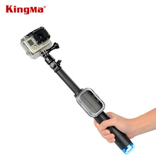 KingMa Hing Quality Telescopic Wifi Remote Selfie stick bluetooth Handheld Monopod Pole for Gopro Hero3/3+/SJ4000 Free Shipping