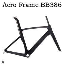SOBATO In Stock Hot selling super light Chinese OEM carbon road bike frames BB386 52/54/56/58cm(China)