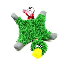 32*19cm Pet Supply Cute Papa Duck Plush Dog Toy with Rope(China)