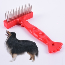 Pets Fur Comb Shedding Remove Grooming Rake Brush Dog Cat Long Short Thick Hair Useful Tools