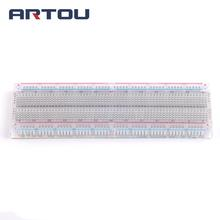 1PCS Solderless Solder Less Breadboard Protoboard 2 buses Tie-point Tiepoint 830(China)