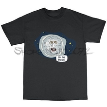 Moon Mighty Boosh Inspired T-Shirt 100% Cotton VINCE NOIR HOWARD MOON(China)