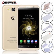 Gooweel S8 3G Smartphone MTK6580 quad core 5.3 inch HD IPS mobile phone 5MP+5MP Camera 1GB RAM 8GB ROM GPS Android Cell phone(China)