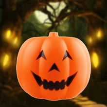 2017 Carnival Halloween Party Decoration Lantern LED Pumpkin Night Light Sound Sensor Props Accessories TB Sale(China)