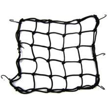 Motorcycle Helmet Luggage Cargo Bungee Net With 6 Hooks Helmet Mesh String Bag Hold Down(China)