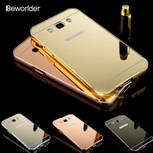 Buy Samsung J7 2016 Case Aluminum Metal Frame + Acrylic Back Cover Mirror Case Samsung Galaxy J7 2016 J710 J7108 J7109 Case for $3.32 in AliExpress store