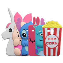 3D Cartoon Stitch Case For Samsung Galaxy S3 mini S3mini i8190 Rabbit Dog Horse Cover(China)