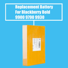 10Pcs/Pack 1230mah Replacement Battery For Blackberry Bold 9930 9900 9790 Torch 9850 9860 Curve 9380 High Quality(China)