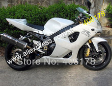 Hot Sales,All white For Suzuki Fairing GSXR1000 03 04 GSX-R1000 GSXR 1000 2003 2004 K3 motorcycle parts (Injection molding)