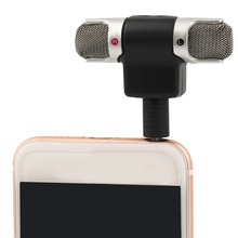 High Quality 3.5mm Jack Portable Mini Mic Digital Stereo Microphone for Recorder Mobile Phone Sing Song Karaoke