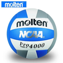 new brand Molten V58X-N4000 PU volleyball Compitition volleyball ball 5#, free with gas nozzle and needle(China)