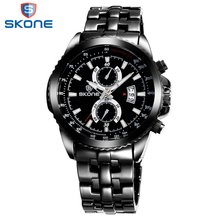 SKONE New Arrival Outdoor Men Quartz-Watches Original Casual Wholesale Waterproof Watch For Gentleman Promotion Relojes Hombre