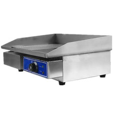 Best Price Half Flat Commercial Electric Griddle Hot Plate Countertop Grill Electric Grill Pan(China)