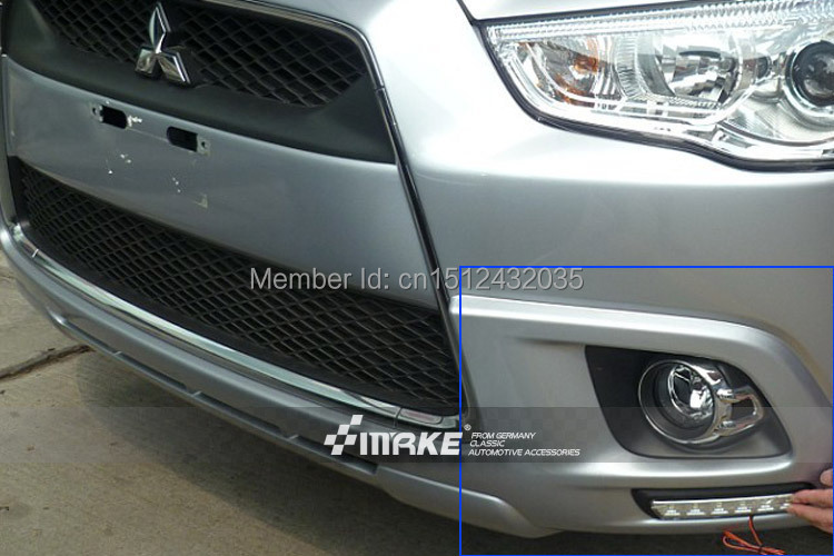Free shipping top quality LED DRL led daytime running light for Mitsubishi ASX 2011-2012<br>