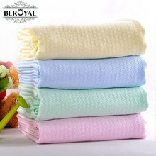 New 2017 Kids Blanket - 1pc 100*120cm Throw Blankets Super Soft Plaid Blanket on bed Children Bedding Set Beroyal Brand Blankets