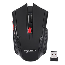 Portable Mini 2.4Ghz  Wireless Mouse USB Optical 2000DPI Adjustable Professional Gaming Mouse Mice For PC Laptop Games