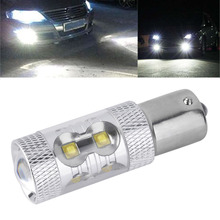 1x Hot Sale for 50W 1156 S25 P21W BA15S LED Backup Light 12V 24V Car Reversing Light Bulb Car Light Parking Fog Light