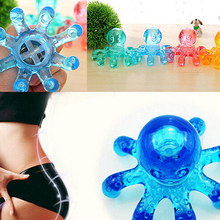 Mini Octopus Shape Personal Massager Muscle Relaxing Body Neck Massage tool
