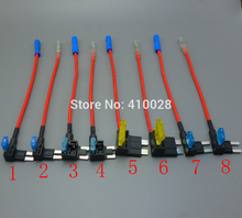 1set micro2,micro ,standard,Mini Blade Fuse Tap Holder Add A Circuit Line ATM APM Car Truck Motorcycle Motorbike